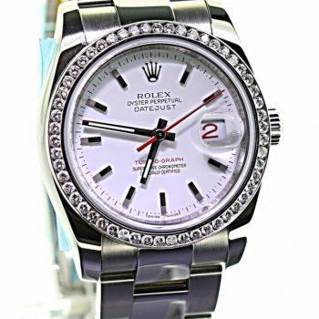 Rolex Datejust 36mm 2011 B&P #198