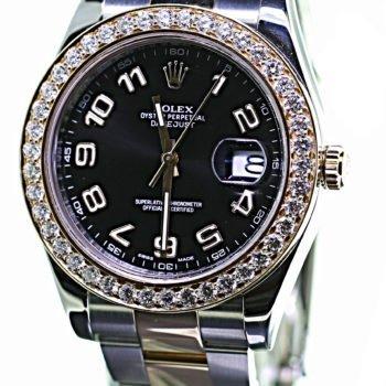 Rolex Datejust II 2012 B&P sold #170