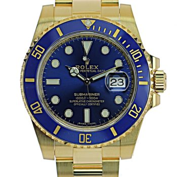 Rolex submariner gold sold #45