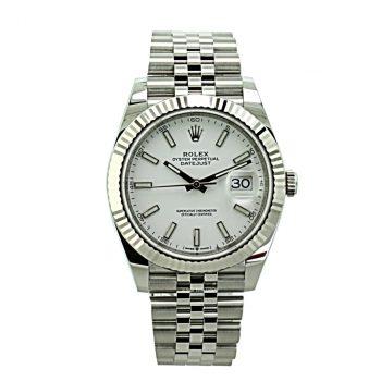 Rolex Datejust 41 unworn 2020 # 385 sold
