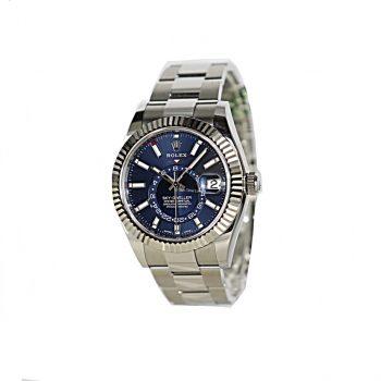 Rolex sky-Dweller Steel Blue dial 2020 B&P #388