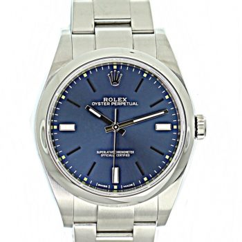 Rolex oyster perpetual 39mm # 396
