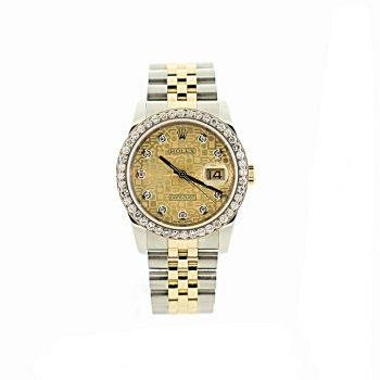 Rolex Datejust 36 2006 B& P # 409