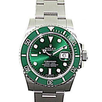 Rolex submariner Hulk unworn 2020 B&P # 425