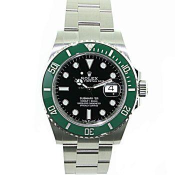 Rolex submariner Kermit 2020 b&p# 424