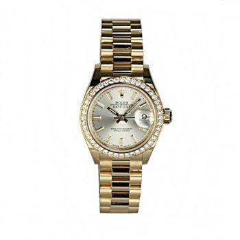 Rolex Datejust 28 unworn b&p # 442
