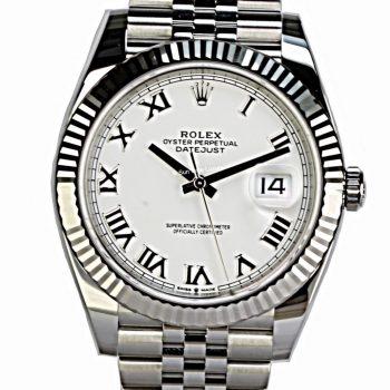 Rolex Datejust 41 unworn 2021 B&p # 546