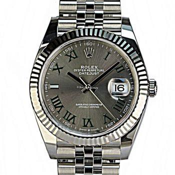 Rolex Datejust 41 unworn 2021 B&p #460