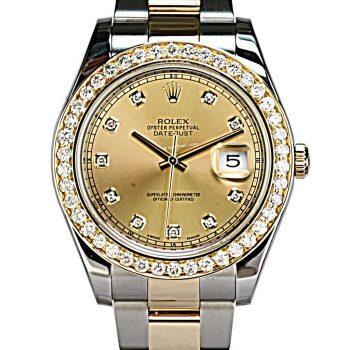 Rolex datejust II B&p # 461
